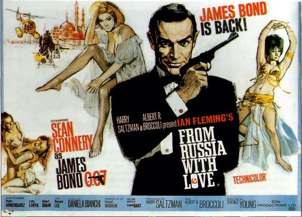 Bondcast 2.0 - 02 - From Russia With Love (1963)
